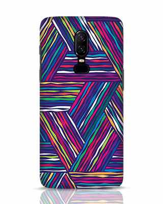 Shop Colorful Pattern OnePlus 6 Mobile Cover-Front