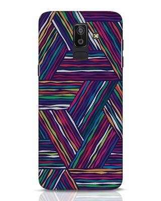 Shop Colorful Pattern Samsung Galaxy J8 Mobile Cover-Front