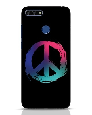 Shop Colors Of Peace Huawei Honor 7A Mobile Cover-Front