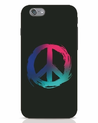 Shop Colors Of Peace iPhone 6s Mobile Cover-Front