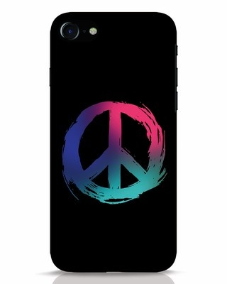 Shop Colors Of Peace iPhone 7 Mobile Cover-Front