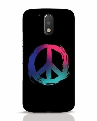 Shop Colors Of Peace Moto G4 Plus Mobile Cover-Front