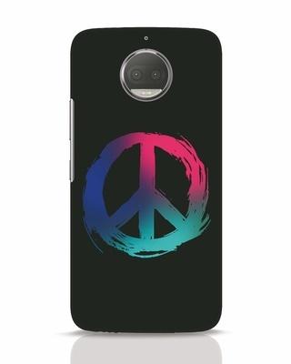 Shop Colors Of Peace Moto G5s Plus Mobile Cover-Front