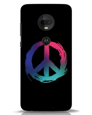 Shop Colors Of Peace Moto G7 Mobile Cover-Front