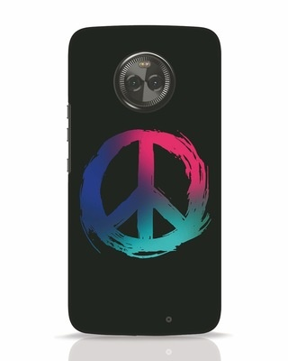 Shop Colors Of Peace Moto X4 Mobile Cover-Front