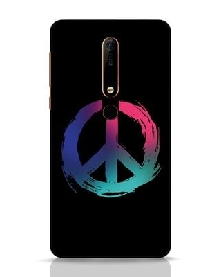 Shop Colors Of Peace Nokia 6.1 Mobile Cover-Front