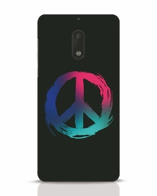 Shop Colors Of Peace Nokia 6 Mobile Cover-Front