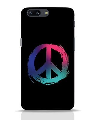 Shop Colors Of Peace OnePlus 5 Mobile Cover-Front