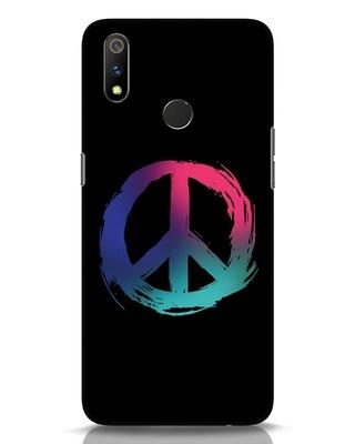 Shop Colors Of Peace Realme 3 Pro Mobile Cover-Front