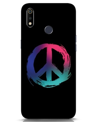 Shop Colors Of Peace Realme 3i Mobile Cover-Front