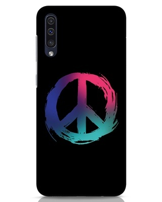 Shop Colors Of Peace Samsung Galaxy A50 Mobile Cover-Front