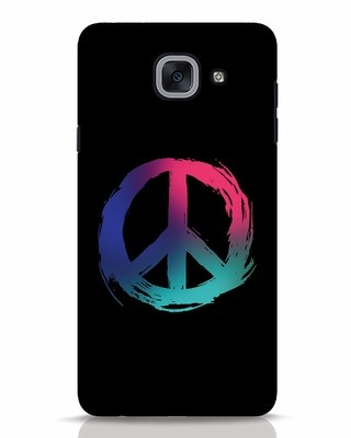 Shop Colors Of Peace Samsung Galaxy J7 Max Mobile Cover-Front