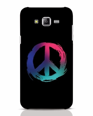 Shop Colors Of Peace Samsung Galaxy J7 Mobile Cover-Front