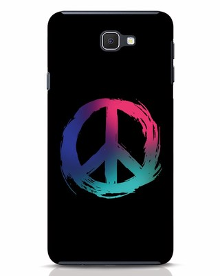 Shop Colors Of Peace Samsung Galaxy J7 Prime Mobile Cover-Front