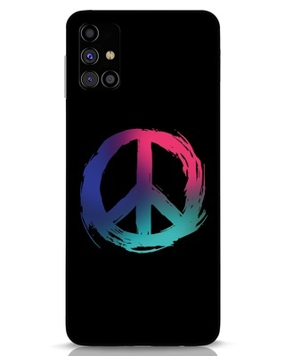 Shop Colors Of Peace Samsung Galaxy M31s Mobile Cover-Front