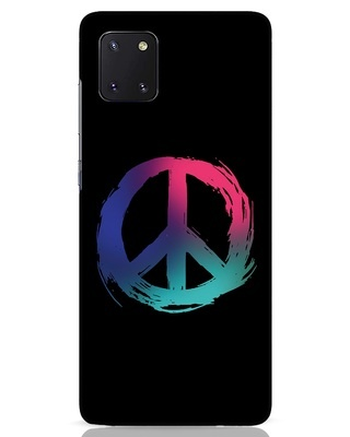 Shop Colors Of Peace Samsung Galaxy Note 10 Lite Mobile Cover-Front