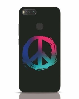 Shop Colors Of Peace Xiaomi Mi A1 Mobile Cover-Front