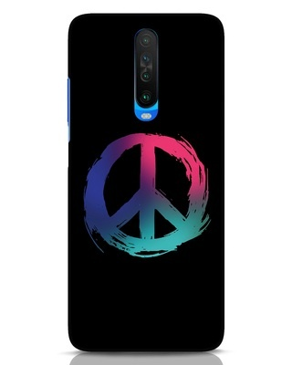 Shop Colors Of Peace Xiaomi Poco X2 Mobile Cover-Front