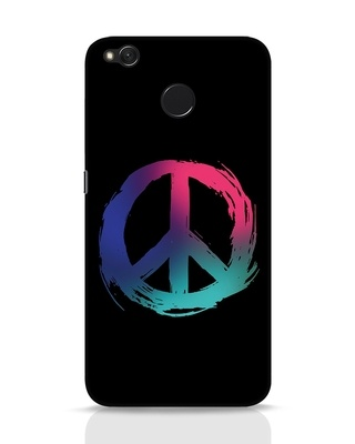 Shop Colors Of Peace Xiaomi Redmi 4 Mobile Cover-Front