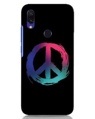 Shop Colors Of Peace Xiaomi Redmi 7 Mobile Cover-Front