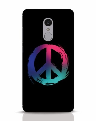 Shop Colors Of Peace Xiaomi Redmi Note 4 Mobile Cover-Front