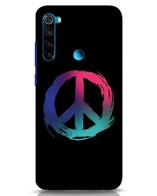 Shop Colors Of Peace Xiaomi Redmi Note 8 Mobile Cover-Front