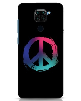 Shop Colors Of Peace Xiaomi Redmi Note 9 Mobile Cover-Front