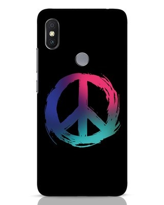 Shop Colors Of Peace Xiaomi Redmi Y2 Mobile Cover-Front