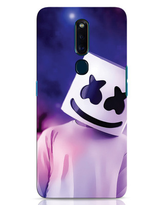 Shop Colourful Mellow Oppo F11 Pro Mobile Cover-Front