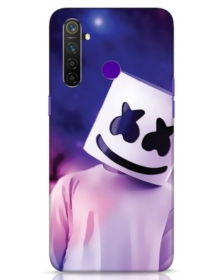Shop Colourful Mellow Realme 5 Pro Mobile Cover-Front
