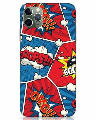 Shop Comic Dialogue Box iPhone 11 Pro Max Mobile Cover-Front