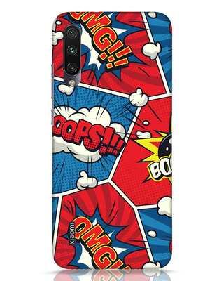 Shop Comic Dialogue Box Xiaomi Mi A3 Mobile Cover-Front
