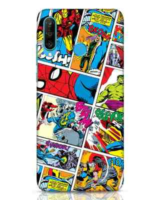 Shop Comic Page Huawei P30 Lite Mobile Cover (AVL)-Front