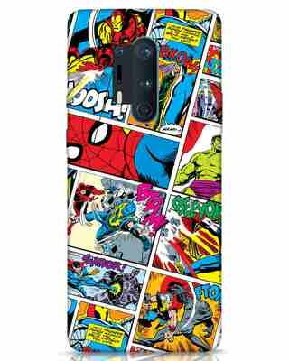 Shop Comic Page OnePlus 8 Pro Mobile Cover (AVL)-Front