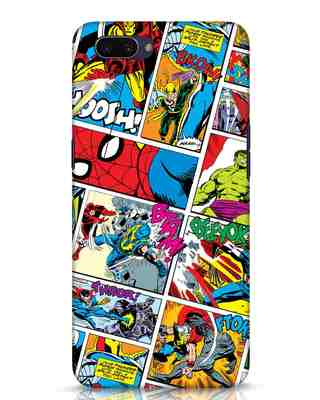 Shop Comic Page Oppo A3S Mobile Cover (AVL)-Front
