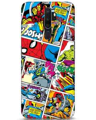 Shop Comic Page Oppo A5 2020 Mobile Cover (AVL)-Front
