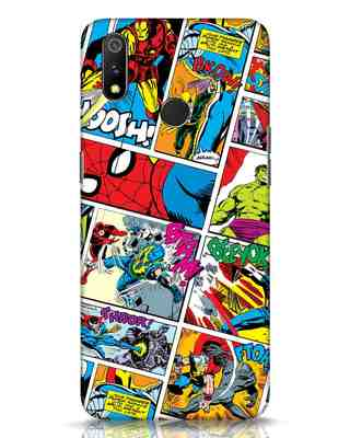 Shop Comic Page Realme 3 Pro Mobile Cover (AVL)-Front
