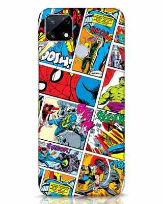 Shop Comic Page Realme Narzo 20 Mobile Cover (AVL)-Front