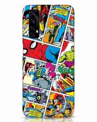 Shop Comic Page Realme Narzo 20 Pro Mobile Cover (AVL)-Front