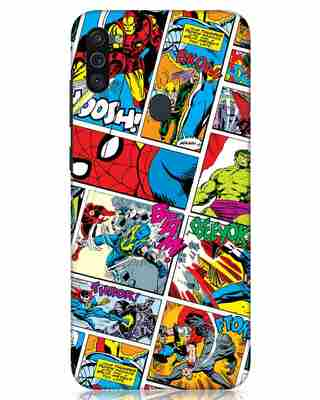 Shop Comic Page Samsung Galaxy M11 Mobile Cover (AVL)-Front