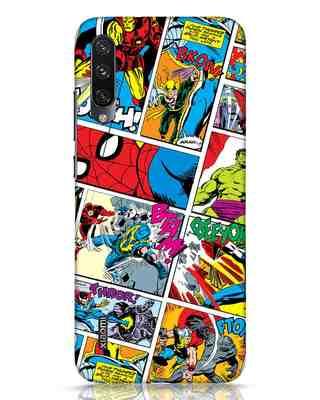 Shop Comic Page Xiaomi Mi A3 Mobile Cover (AVL)-Front