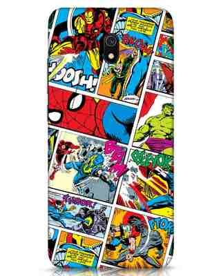 Shop Comic Page Xiaomi Redmi 8A Mobile Cover (AVL)-Front