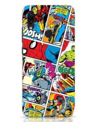 Shop Comic Page Xiaomi Redmi Note 7 Mobile Cover (AVL)-Front