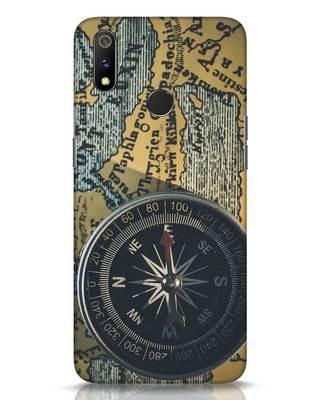 Shop Compass Realme 3 Pro Mobile Cover-Front