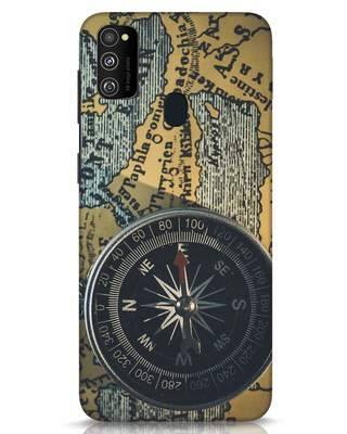 Shop Compass Samsung Galaxy M30s Mobile Cover-Front