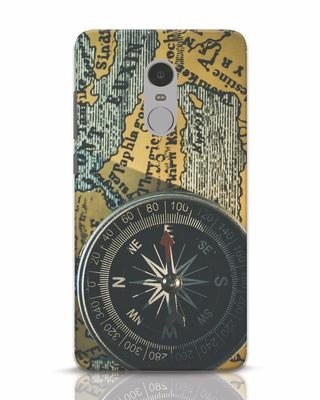 Shop Compass Xiaomi Redmi Note 4 Mobile Cover-Front