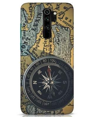 Shop Compass Xiaomi Redmi Note 8 Pro Mobile Cover-Front