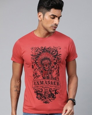 Shop Conditions Apply Red Graphic T-Shirt-Front