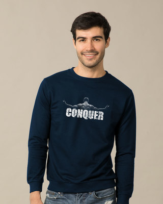 Shop Conquer The World Sweatshirt-Front