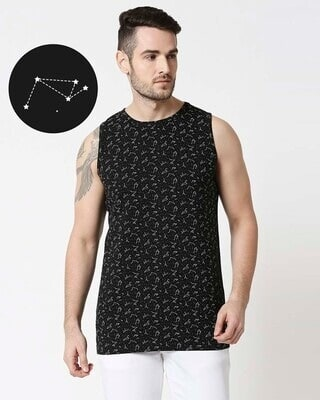 Shop Constellations AOP Vest-Front